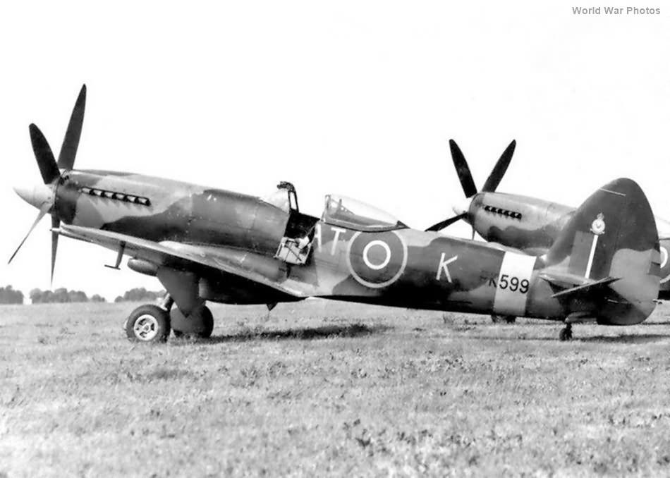 Spitfire F22 PK599 RAT-K