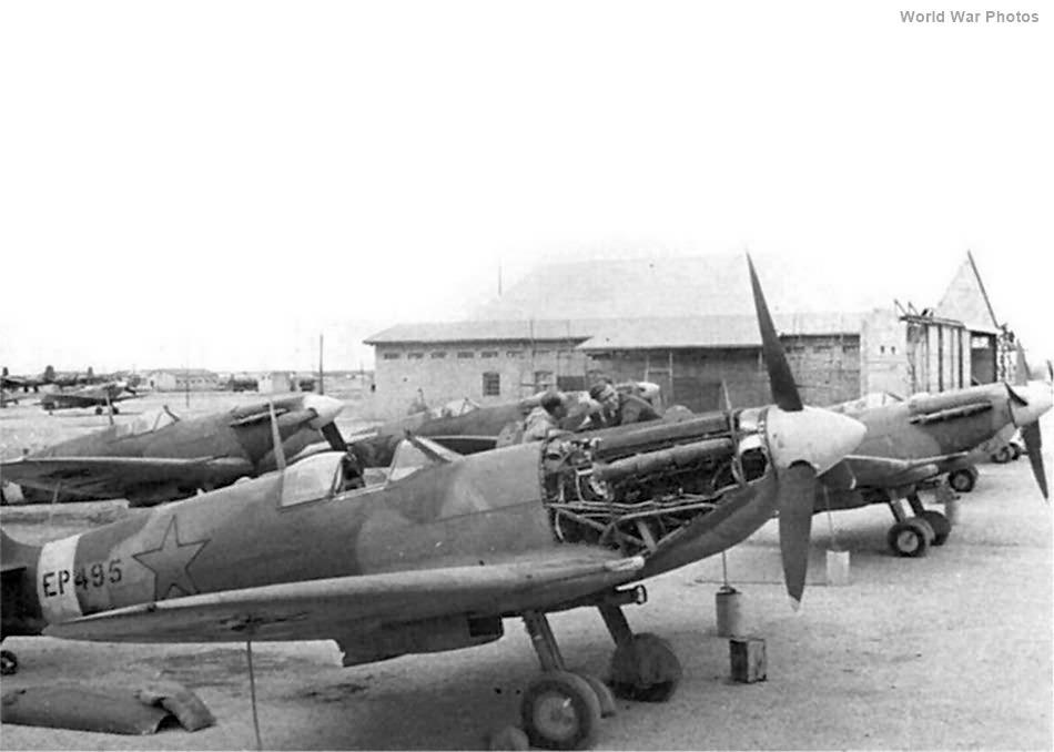 Spitfire Vb EP495 1943