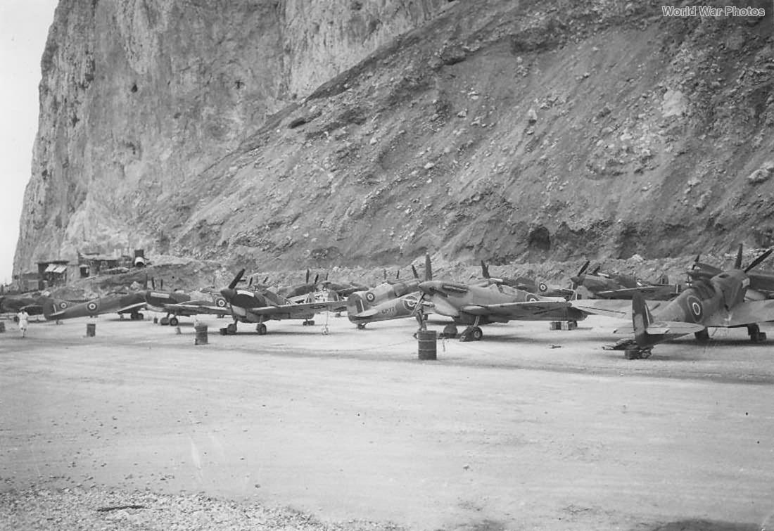 Spitfire Vb Gibraltar oct42