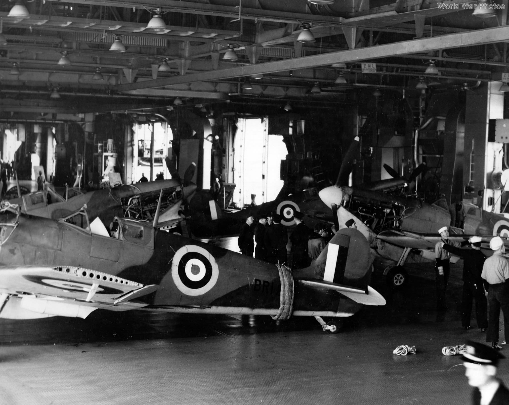 Spitfires USS Wasp 1942 2