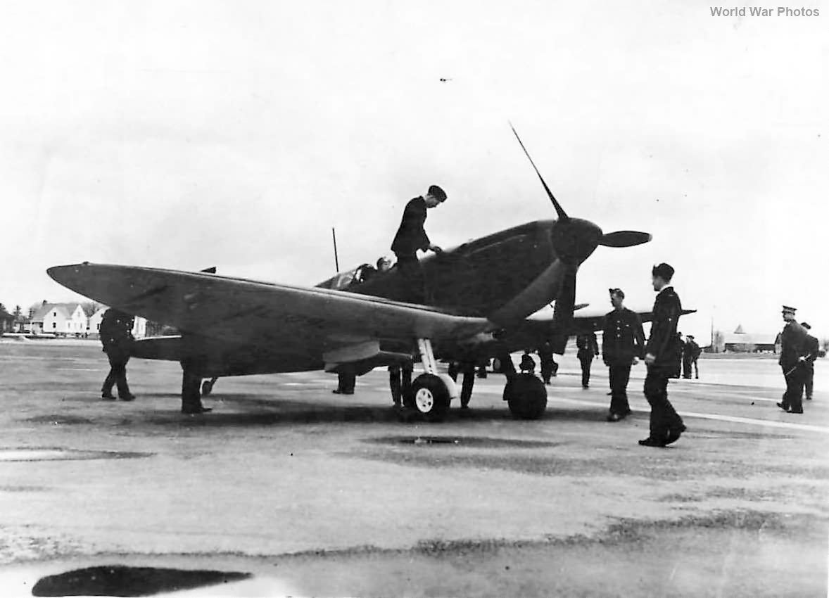 Spitfire at RCAF