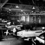 Spitfires on the USS Wasp for delivery to Malta