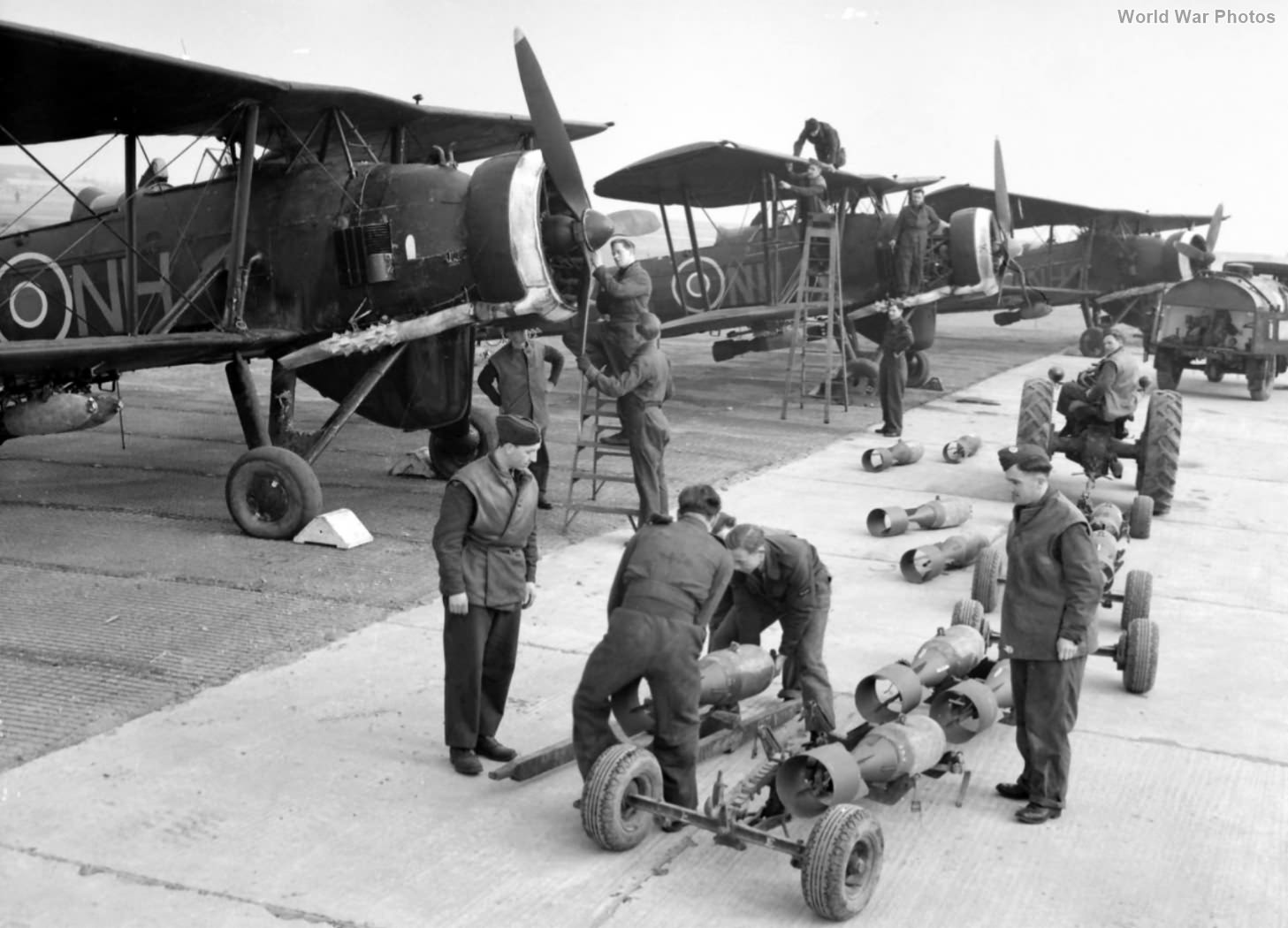 Swordfishes of No. 119 Squadron RAF Knokke le Zoute