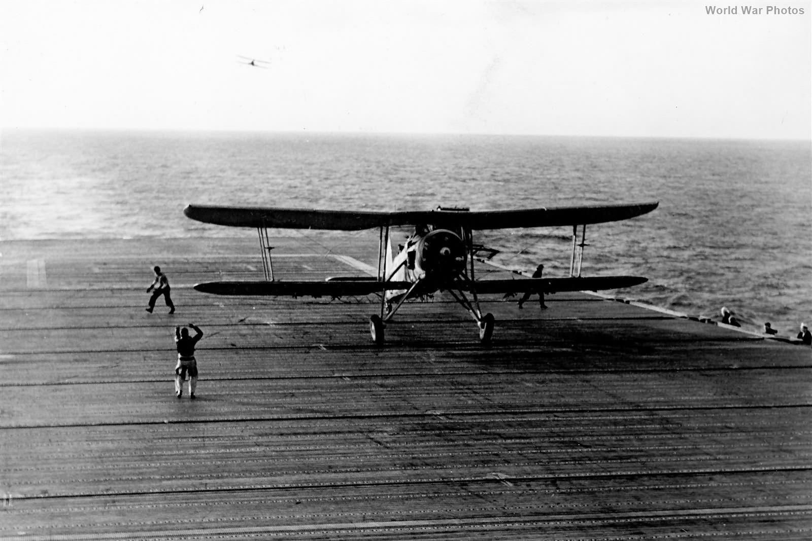 Swordfish 813 Squadron aboard USS Wasp 1942