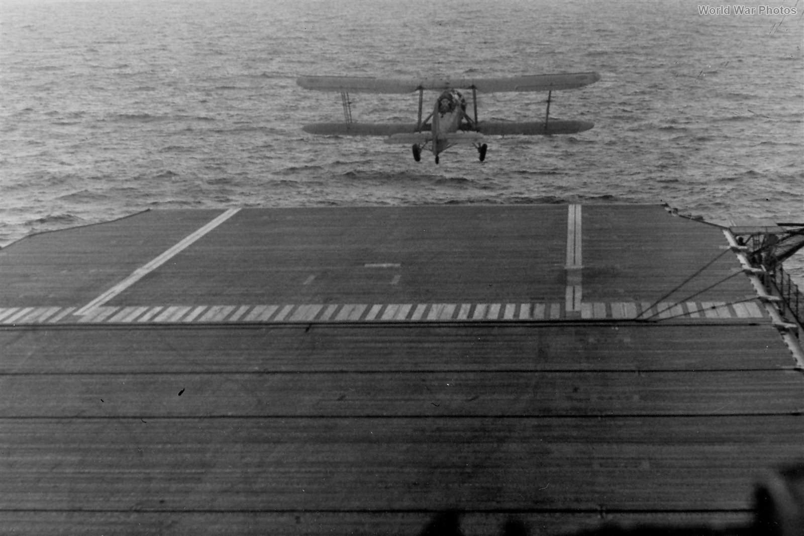 Swordfish 813 Squadron Takes Off From USS Wasp 1942 2