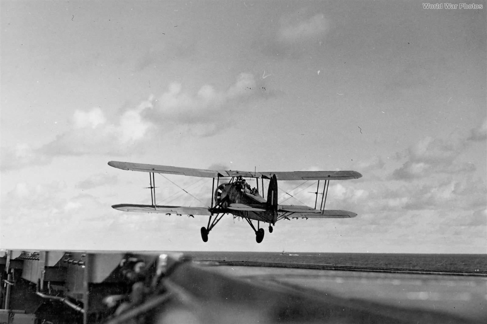 Swordfish 813 Squadron Takes Off From USS Wasp 1942 3