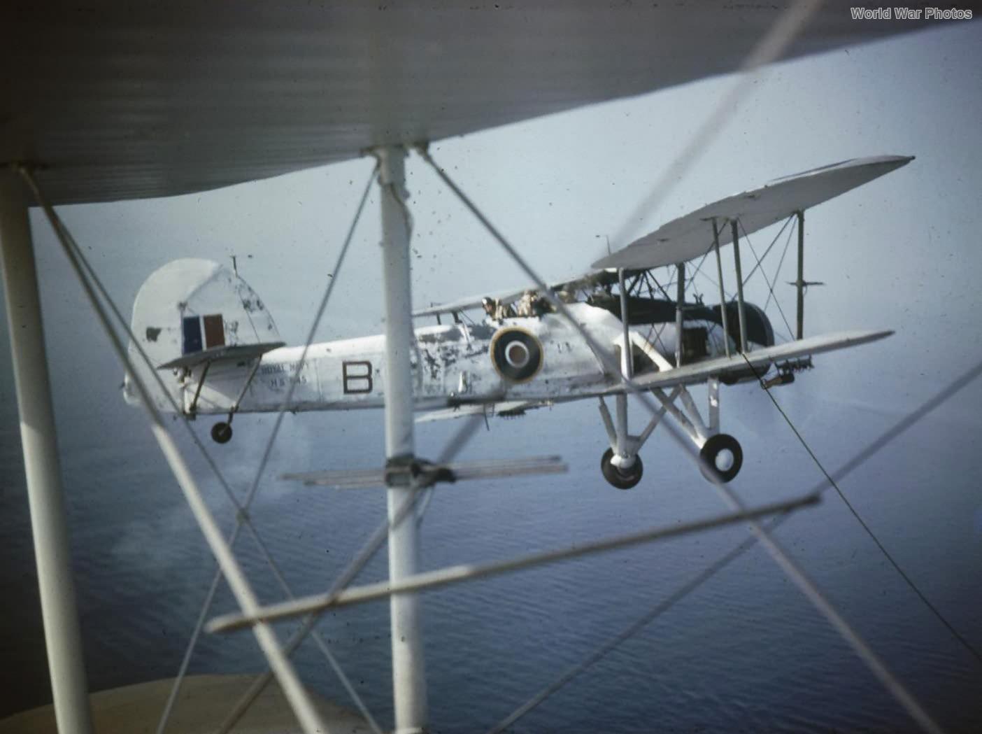 Swordfish Mk II HS545 of No. 824 Sqn