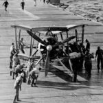 Swordfish 812 Squadron Aboard USS Wasp April 1942