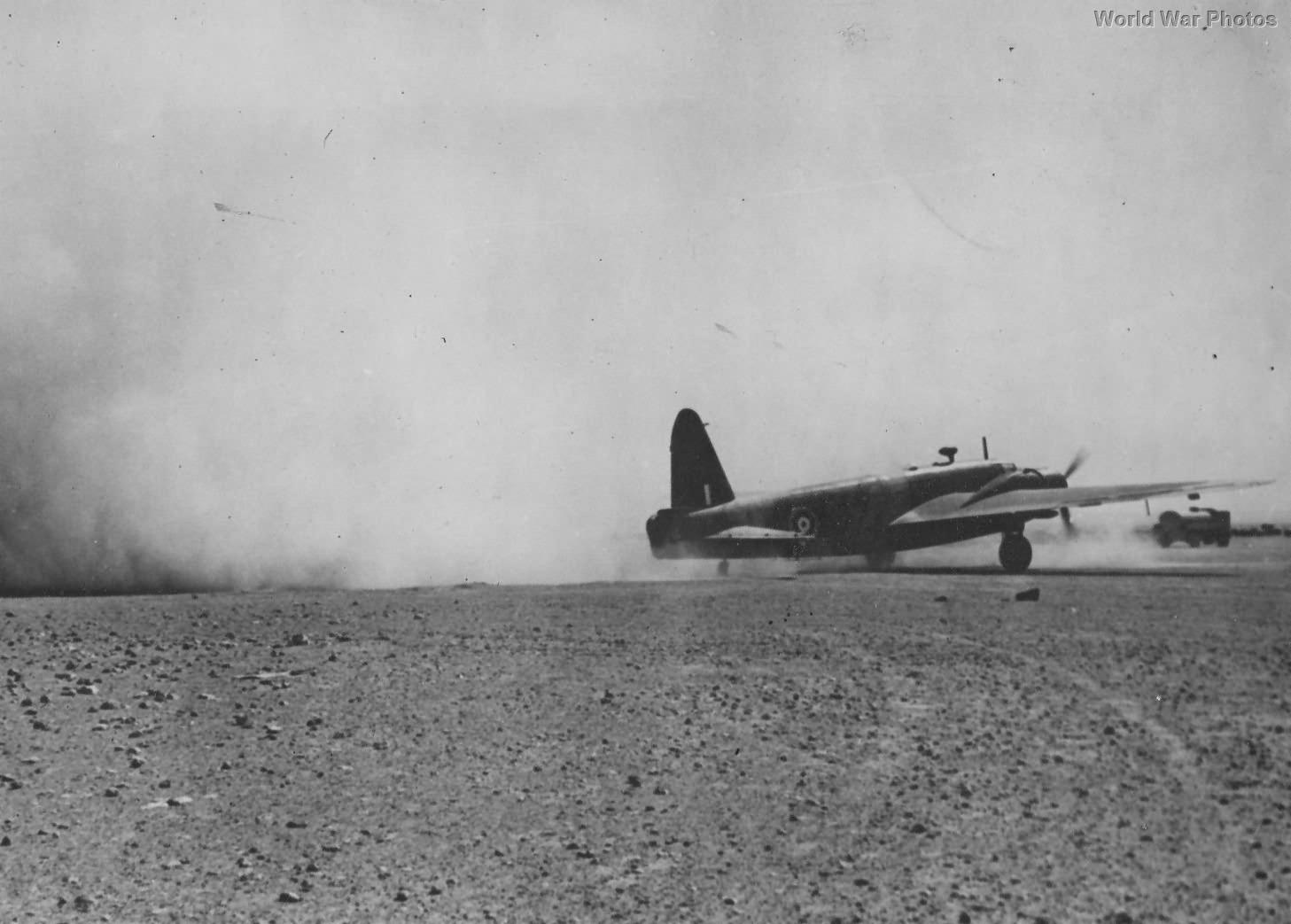 Vickers Wellington Western Desert 1942