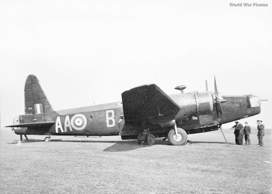 Wellington AA-B of No. 75 Squadron RAF