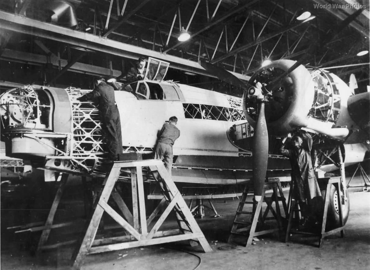 Wellington Being Built at Vickers-Armstrong Plant
