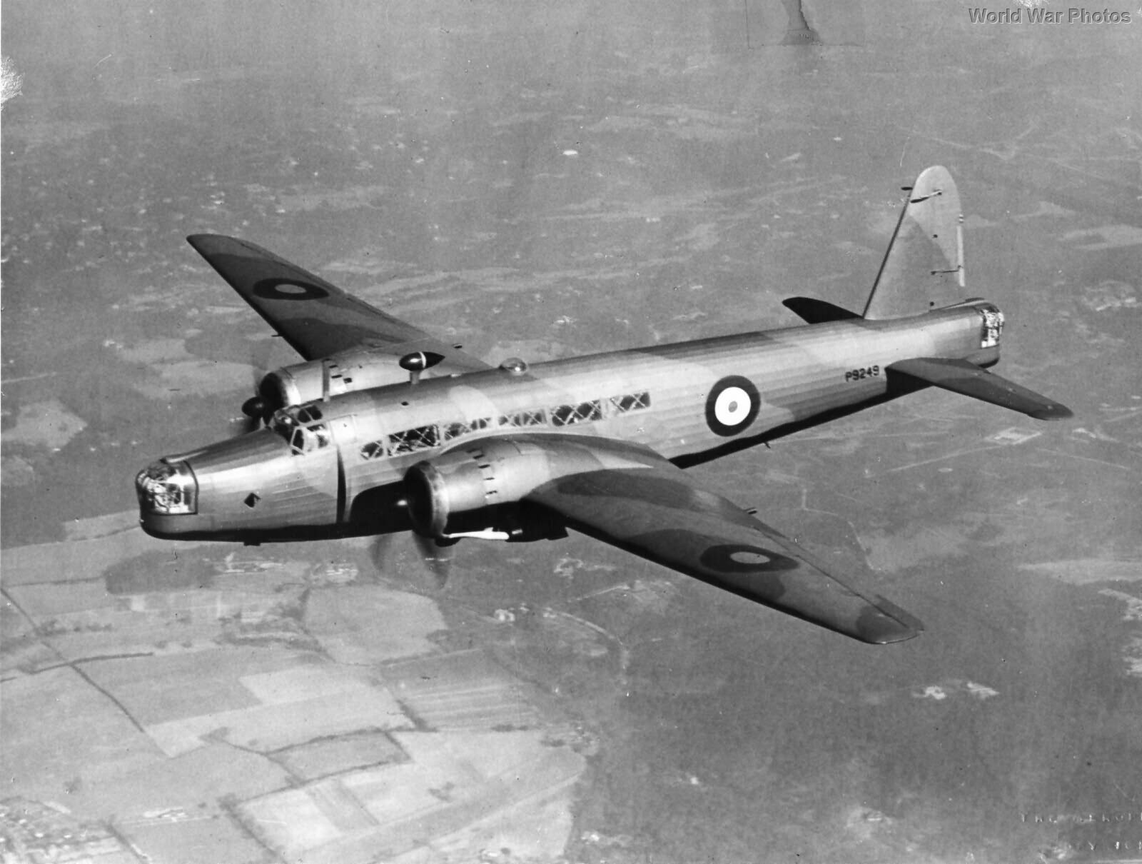 Vickers Wellington Mk IC P9249