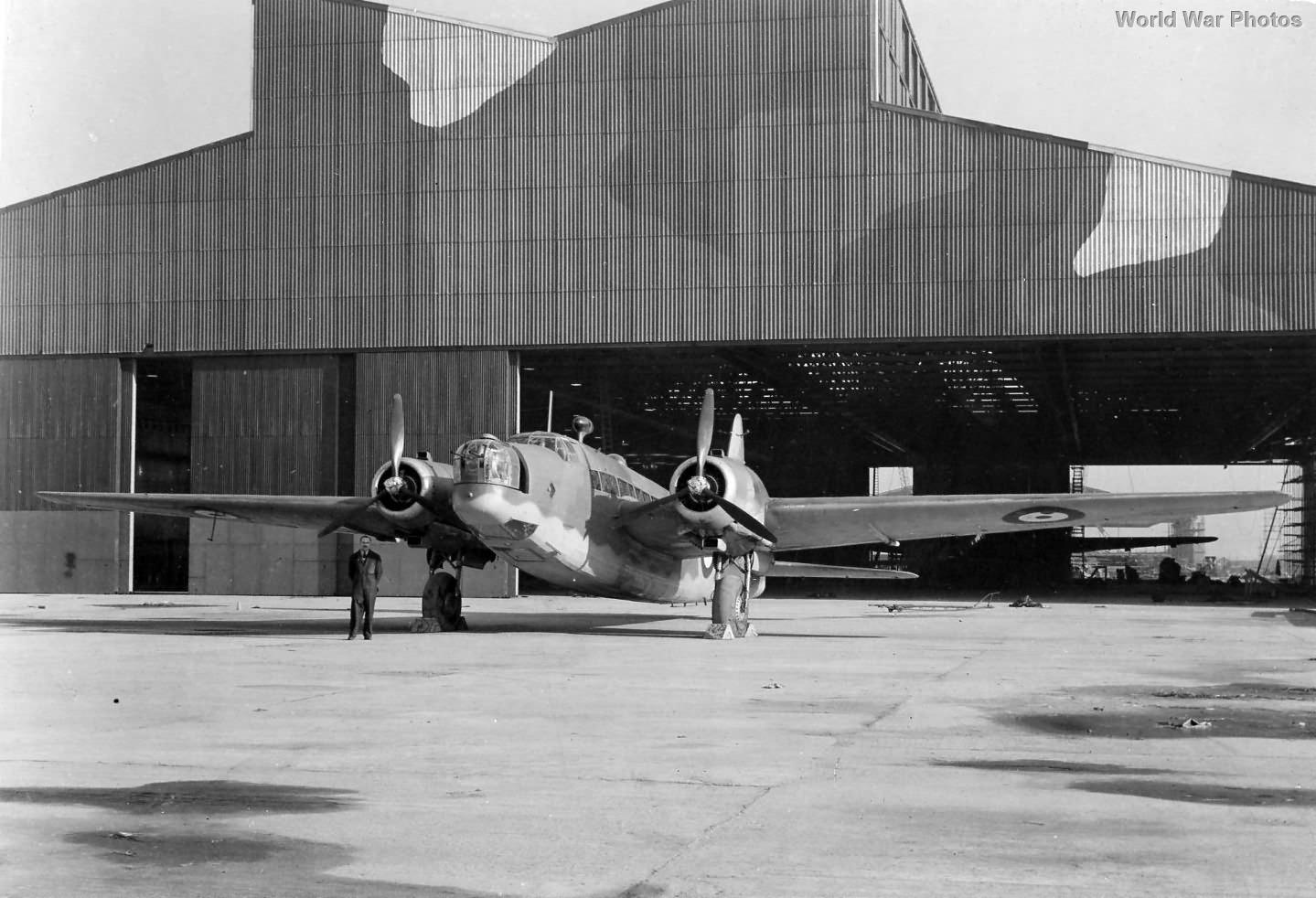 Vickers Wellington Mk IV Prototype R1220 Chester 1941