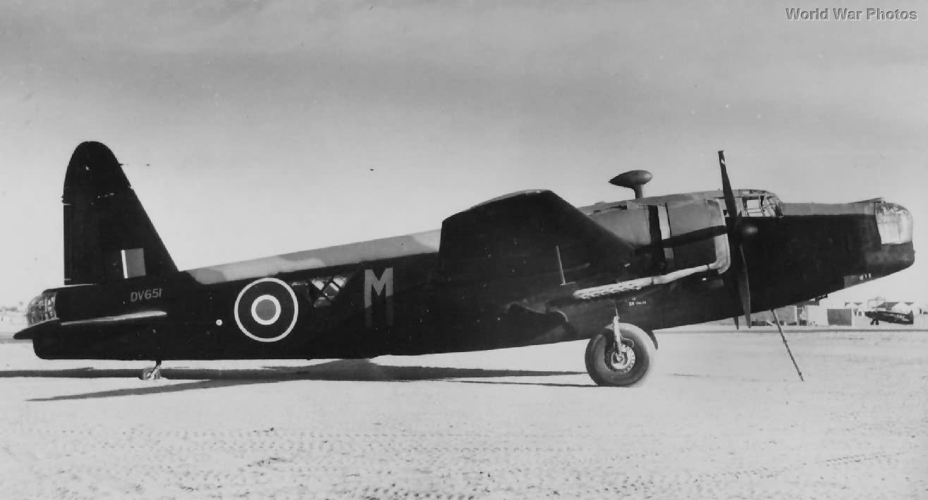 Vickers Wellington Ic DV651 El Kabrit