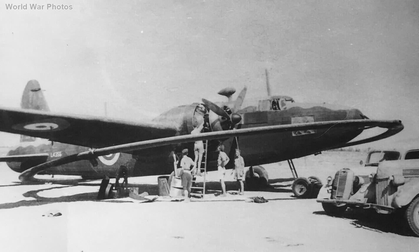 Vickers Wellington L4356 DWI