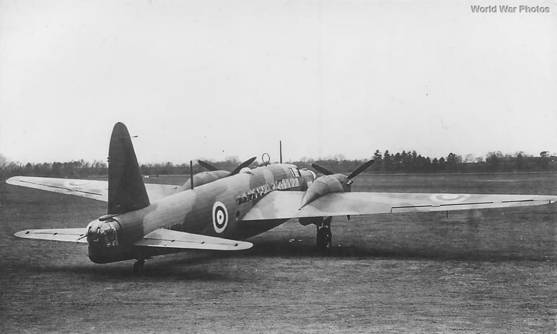 Vickers Wellington Mk II Prototype L4250