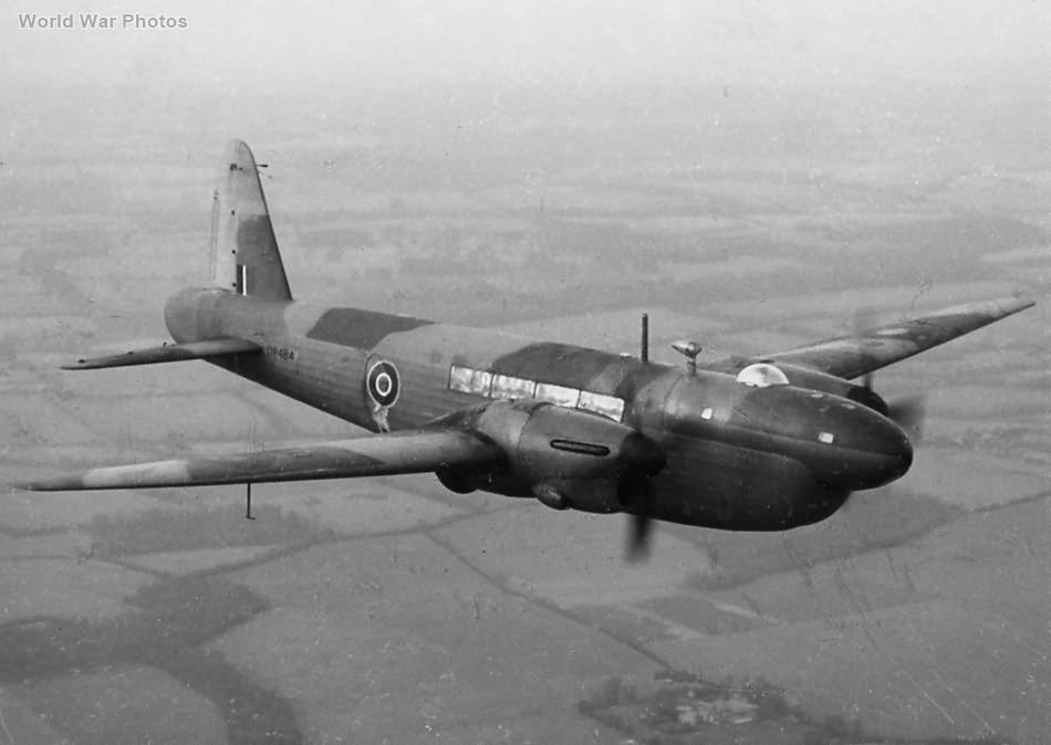 Vickers Wellington Mk VI DR484