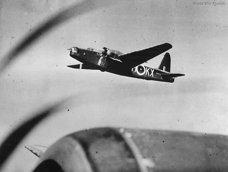 Vickers Wellington Mk IC R1410 KX-M of No. Squadron 311 RAF 1941