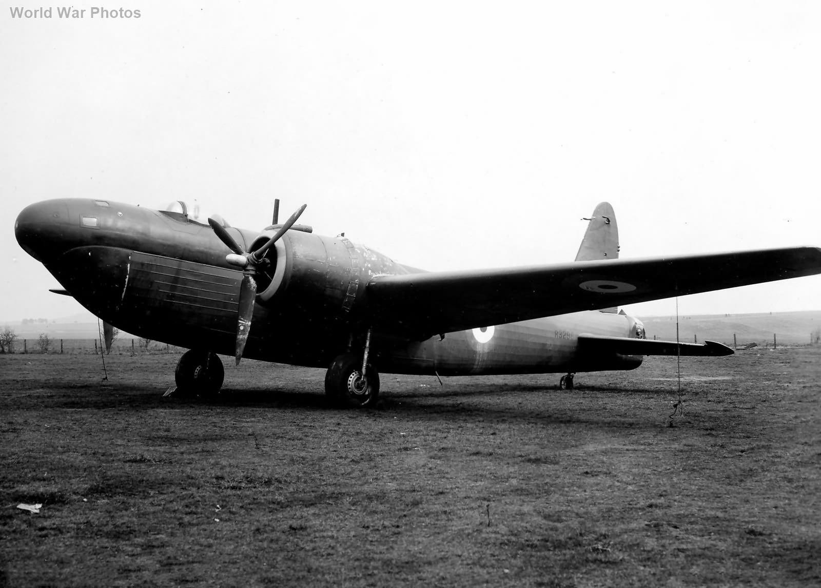 Wellington Mk V R3298 3