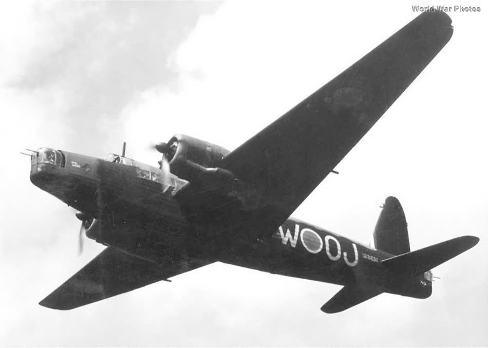 Vickers Wellington OJ-W of No. 149 Squadron RAF