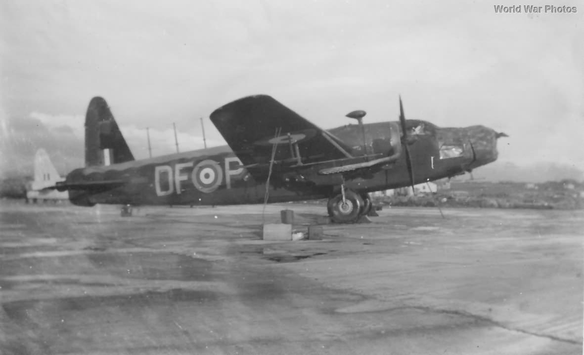 Wellington DF-P of No. 221 Squadron RAF Reykjavik 1941