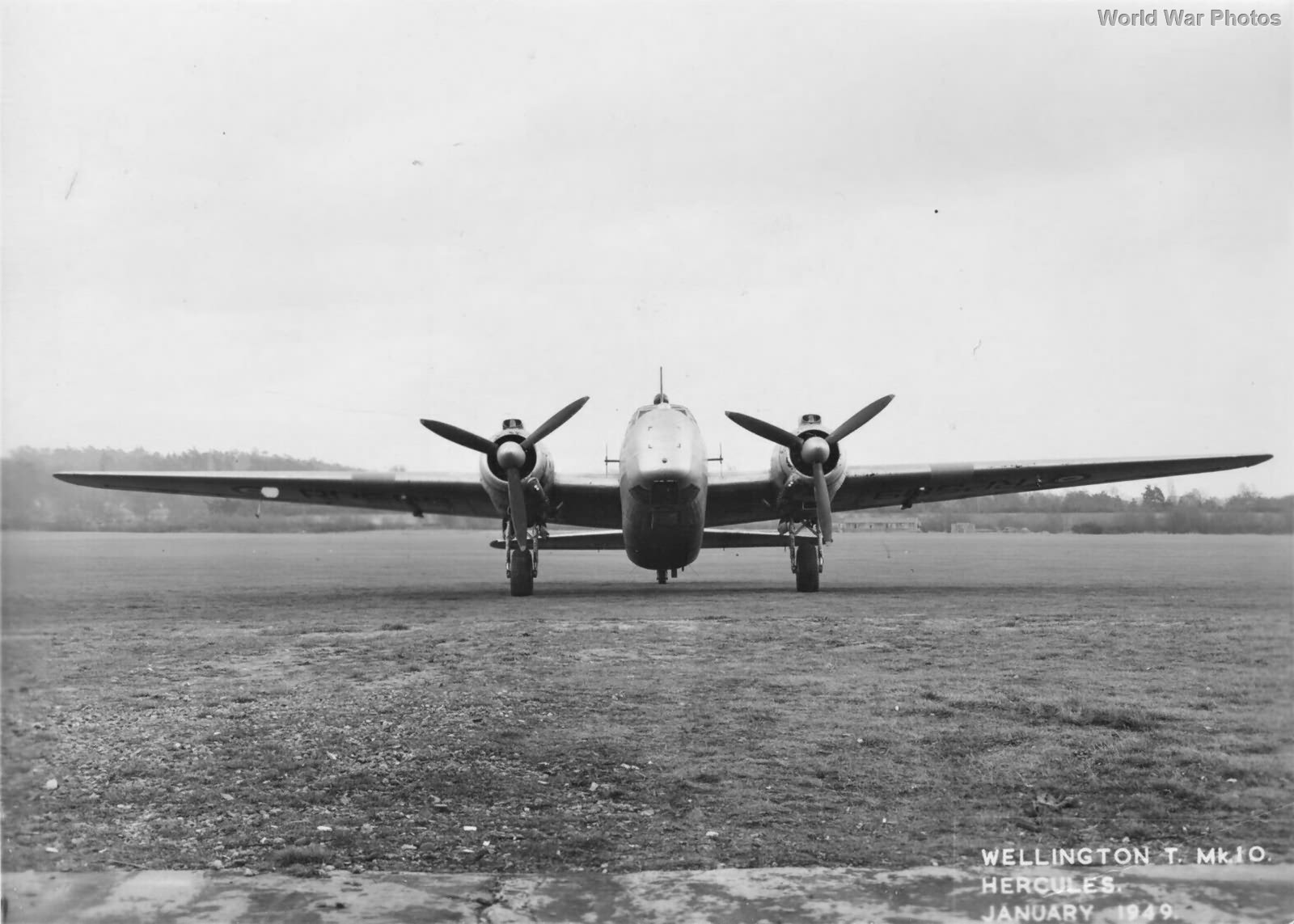 Trainer Wellington T Mk 10 NA928 1949