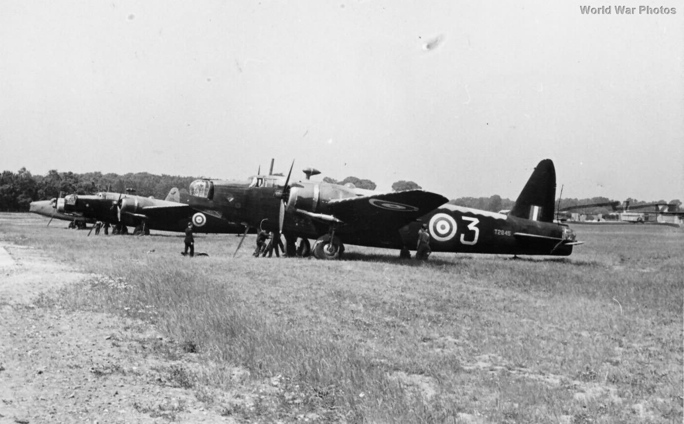 Wellington T2845 Air Transport Auxilliary school 1942