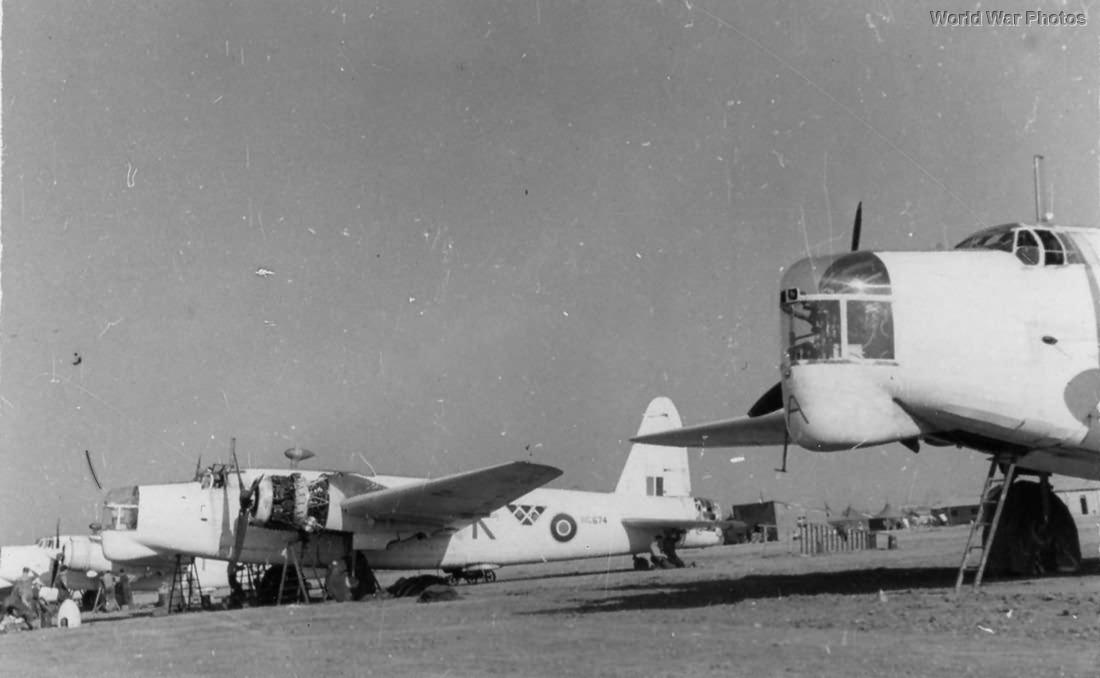 Wellingtons Mk XII Bari 1945