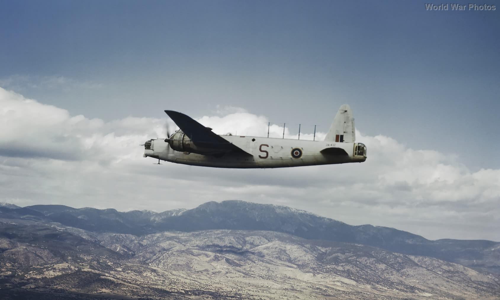 Wellington Mk XII JA412 of No 221 Squadron RAF Greece