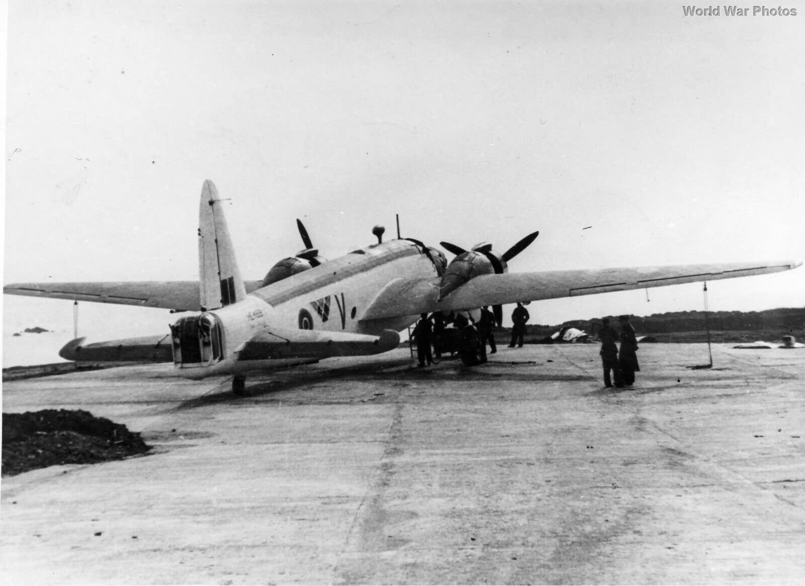 Wellington Mk X HE488 of No. 304 Polish Bomber Squadron