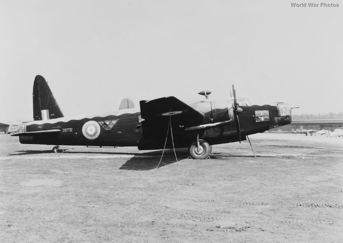 Wellington Mk IC Z8772 in USA 1941