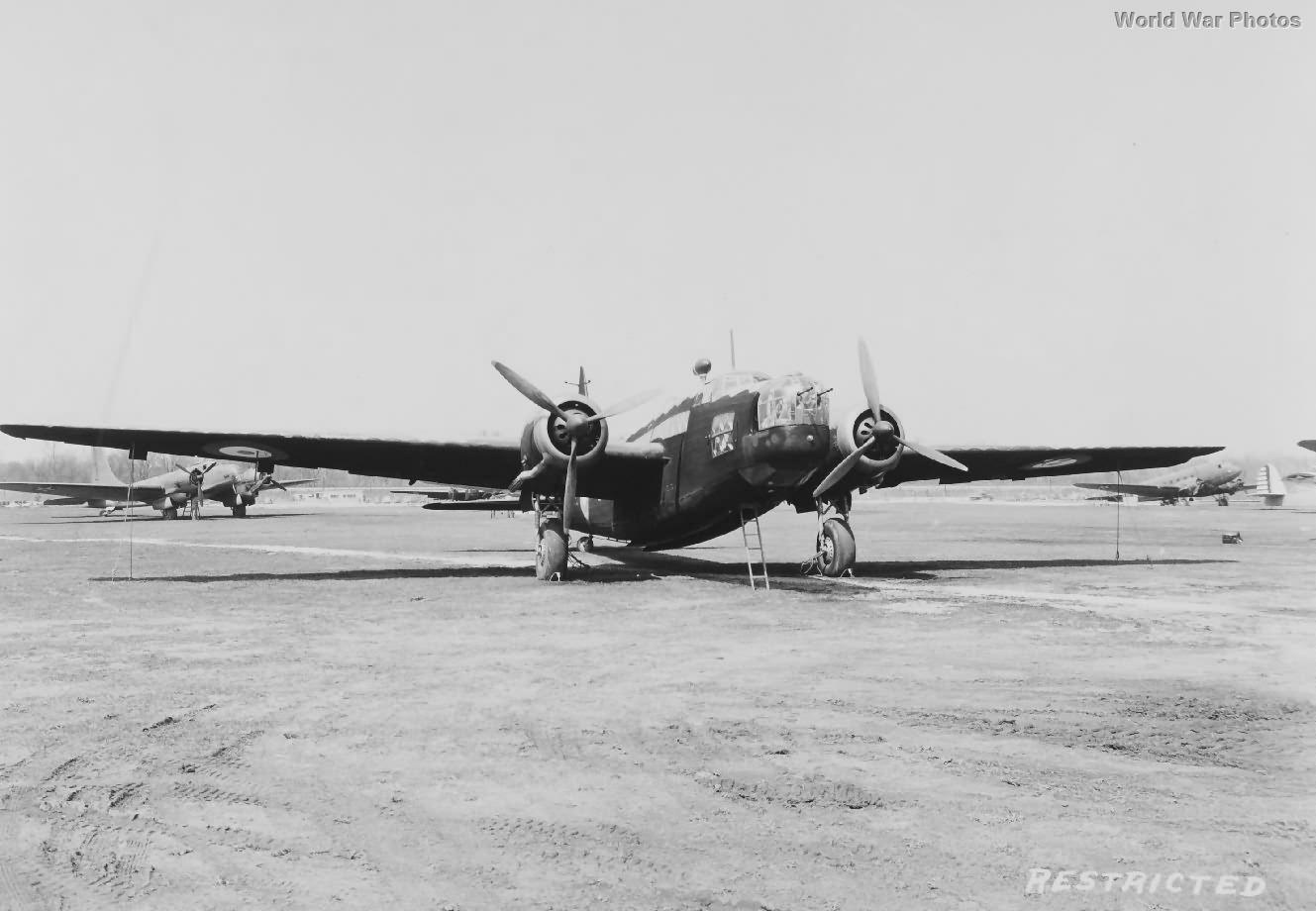 Wellington Mk IC Z8772 in USA 1941 2