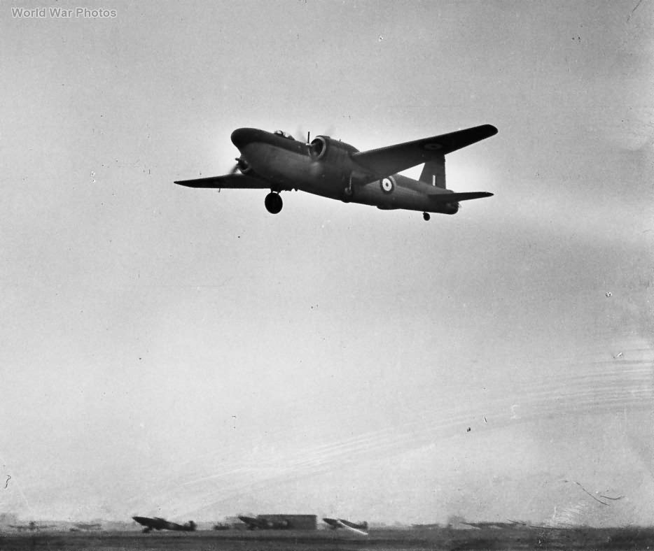 Vickers Wellngton Mk V taking off
