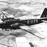 Vickers Wellington Mk II W5461 EP-R of No. 104 Squadron RAF