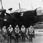 Crew with Wellington Mk II of No. 214 Squadron RAF