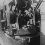 Wellington Damaged Rear Gun Turret