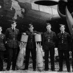 Crew with Wellington R3297 of No, 75 Squadron RAF at Feltwell September 1940