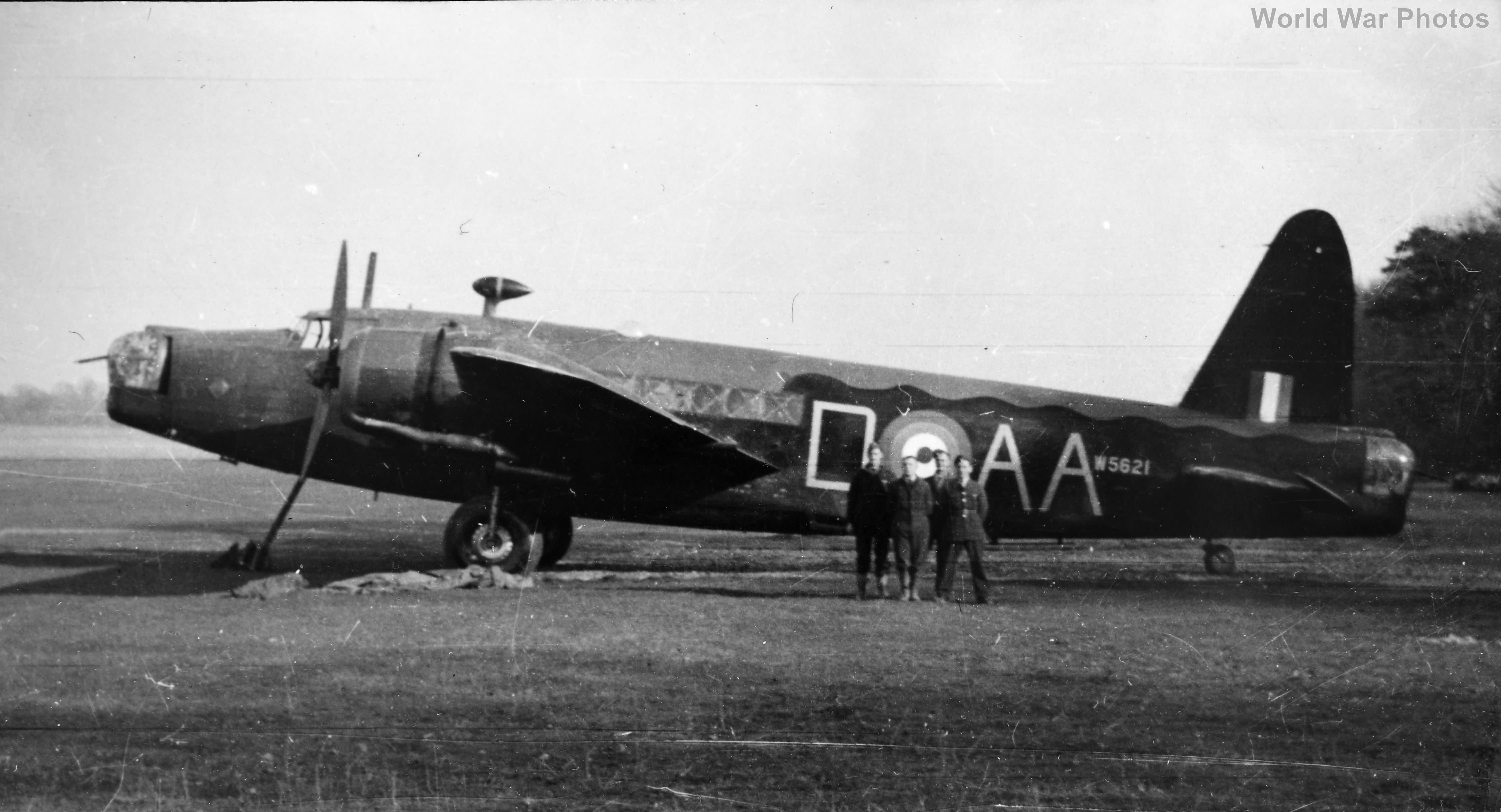 75 Squadron Vickers Wellington IC W5621