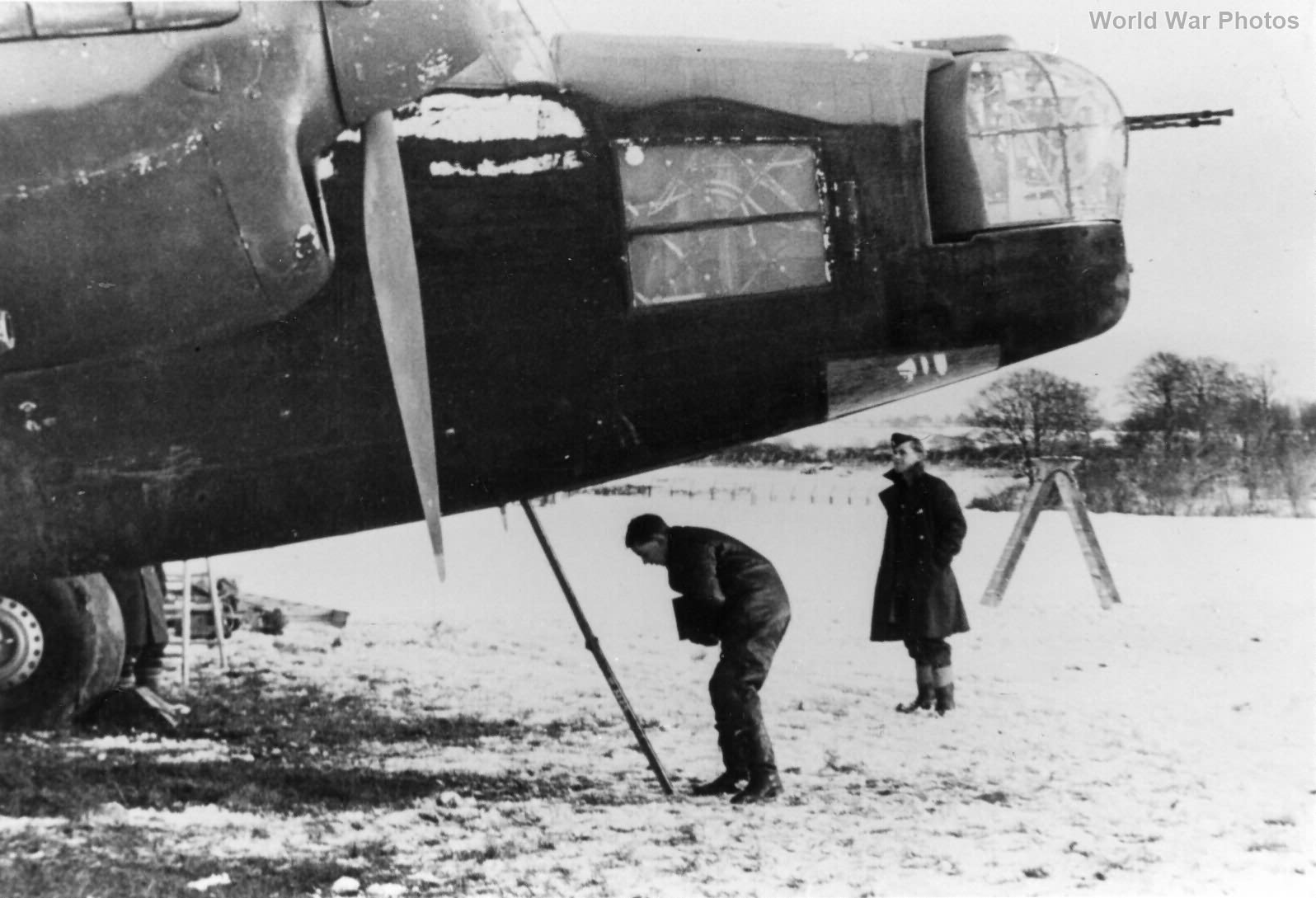 Wellington Mk II at Binbrook