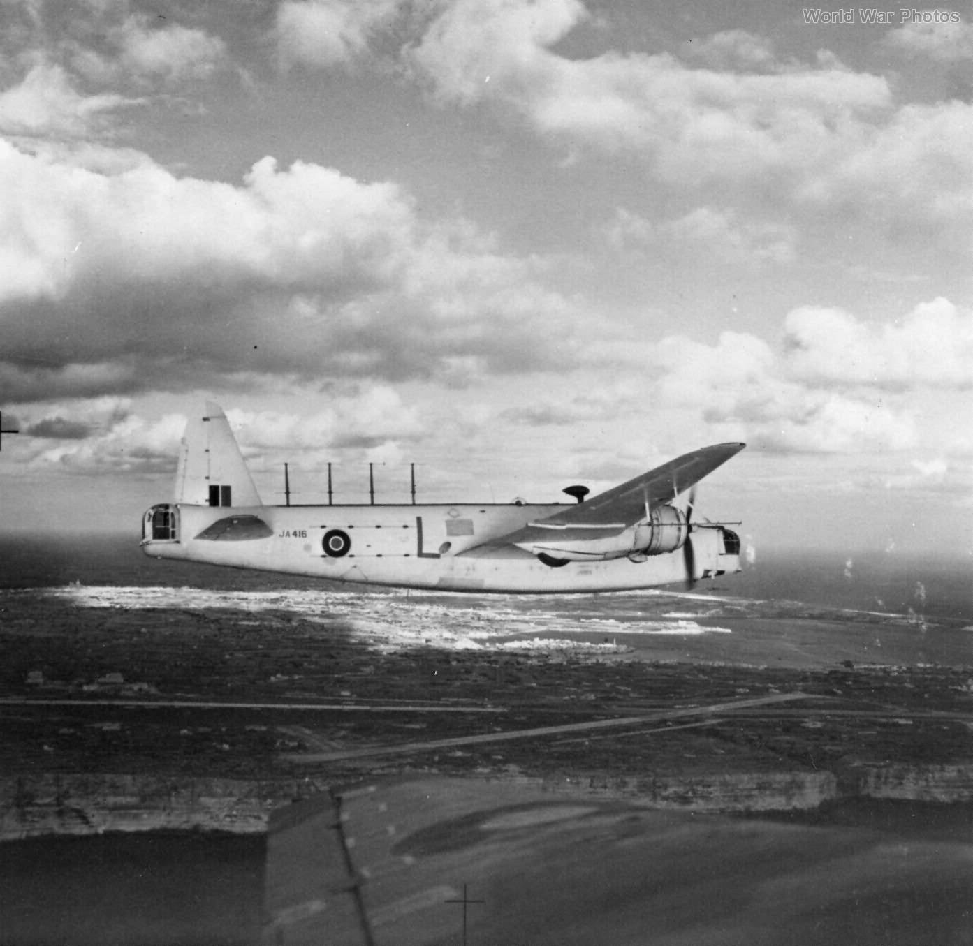 Wellington XIII over Malta