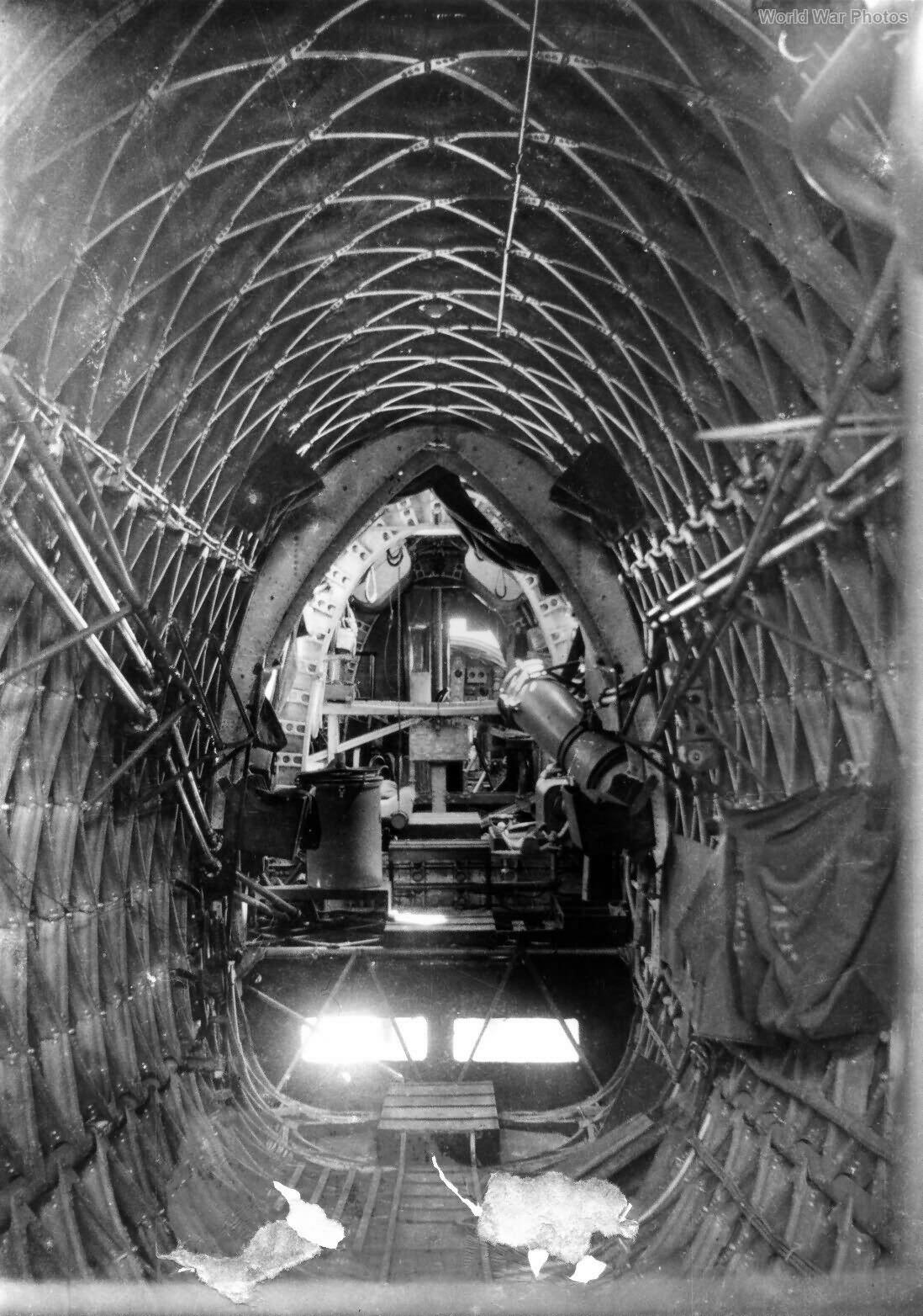 Wellington bomber interior