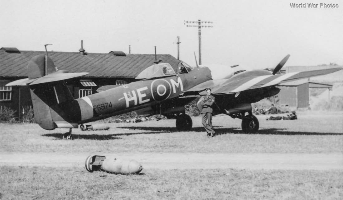 Whirlwind P6974 HE-M of No. 263 Squadron RAF