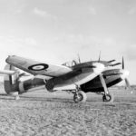 Westland Whirlwind HE-H P6984 of No. 263 Squadron RAF