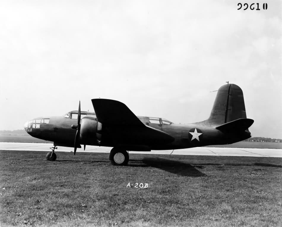A-20B 41-2672 at Wright Field | World War Photos