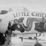 A-20G Havoc 43-9521 named LITTLE CHIEF of the 90th Bomb Group