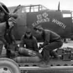 "Douglas A-20 of 47th Bomb Group ""Eleven's Worth"" Nose Art"