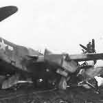 A-20 Attack Bomber Crashed Into P 47 Fighter Plane on Field