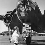 A-20 Havoc Bomber Factory Airfield Long Beach California 1942