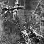 A-20 bombs German positions at Cisterna 1944
