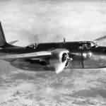 Douglas A-20A in flight